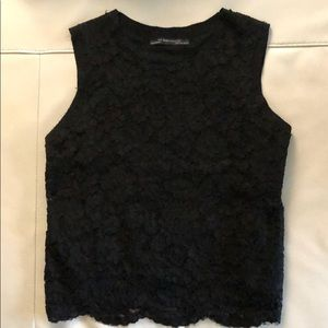 Zara collection lace top fully lined